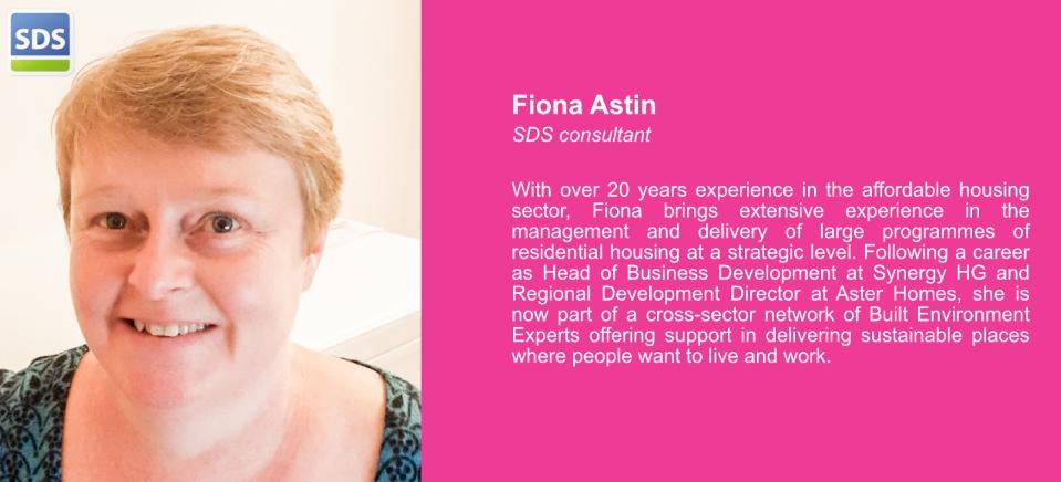 Fiona Astin SDS consultant